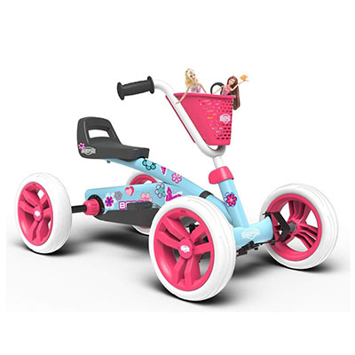 Best Pedal Go Karts BERG Toys Girls Buzzy Bloom Kids Pedal Go Kart
